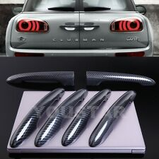US STOCK 6x CARBON Look Door Handle Covers MINI Cooper F54 CLUBMAN Barn Split