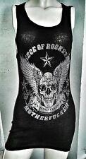 BIKER, ROCKER, PUNK, ROCKSTAR MOTHER FU@#ER MUSCLE SHIRT BEATER TANK TOP