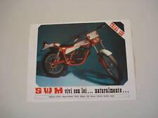 advertising Pubblicità 1978 MOTO SWM TRIAL 125