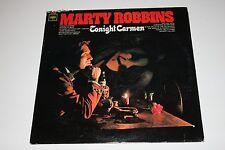 """Marty Robbins """"Tonight Carmen"""" LP Columbia CL-2725 VG/VG"""