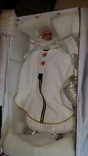 POPE FRANCIS DOLL ROMAN CATHOLIC CHURCH STATUE GOLDEN STAFF -IN STOCK NOW