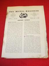 MODEL ENGINEER - Oct 6 1938 Vol 79 # 1952