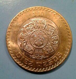 Mexico 10 Pesos coin 2016
