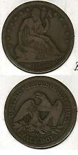 1856 O SEATED LIBRTY HALF DOLLAR