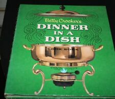 Vtg Betty Crocker Cookbook Dinner in a Dish 1st Ed 1st Printing 1965 1960s -JJJJ
