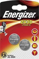 ENERGIZER CR2430 LOT DE 10 PILES au lithium 3V