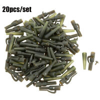 20Pcs/lot outdoor Carp Fishing Terminal Tackle Safety Lead Clips Fishing Tackle