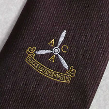 Personnel navigant Air Crew association ACA VINTAGE CLIP-ON TIE 1970 s Successus par impulsion