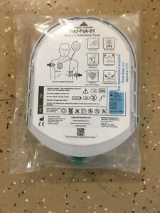 New - HeartSine Adult Pad-Pak-01 Battery and Pads Expire 12/2023