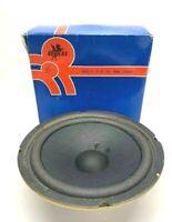 """Vintage Revere Full range speaker RS810 - 8"""" Dual Cone Loudspeaker 15W 8 ohm"""