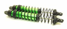 X-MAXX SHOCKS (GTX Aluminum Green-Anodized TRA7761g (2) Springs Traxxas 77086-4