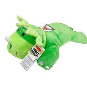 "NEW Melissa and Doug Cuddle Dinosaur Giant Stuffed Animal Plush 27"""