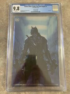 Batman Grimm Knight #1 Dell'otto Foil Convention Variant CGC 9.8 DC Comics