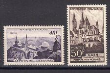 """FRANCE: SERIE DE 2 TIMBRES """"MONUMENTS ET SITES"""" NEUF** YTN°916/917 Cote:12,90€"""
