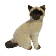 "BNWT - Bocchetta Siamese Cat Sitting ""Noodles""  Soft Toy 25cm/10nch"