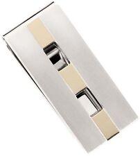 Dolan Bullock money clip Bel Air ss &18k gold great gift Nmc010400