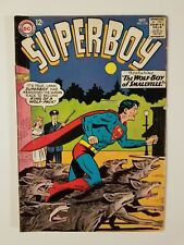 SUPERBOY #116 FN- (DC,1964) Chief Parker & Lana - The Wolf Boy of Smallville!