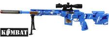 Ragazzi Bambini Esercito Giocattolo Gioco fucile da cecchino M16 le luci lampeggianti Sound Machine Gun NUOVO