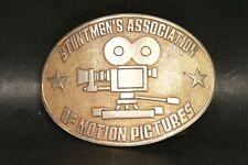 Vintage Stuntmens Association Of Motion Pictures Belt Buckle