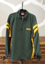 Nfl Men's Green Yellow Packers Half Zip Pullover Top - Xl