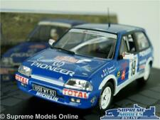 CITROEN AX GTI RALLY CAR MODEL 1:43 SIZE 1993 IXO DRIANO LALLEMENT MONTE CARLO T