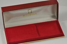 MINT OMEGA WATCH BOX RED New Old Stock