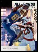 2019 SCORE ALL-HANDS TEAM MIKE WILLIAMS LOS ANGELES CHARGERS #AHT-7 INSERT