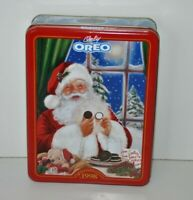 Oreo Cookie Holiday Tin 1998 Nabisco Advertising Empty