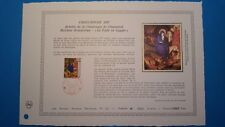 FRANCE DOCUMENT ARTISTIQUE YVERT 2498 CROIX ROUGE RETABLE CHAMPMOC 1987  L520