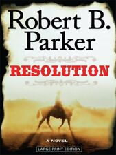 Resolution (Wheeler Publishing Large Print Hardcover) by Parker, Robert B Book