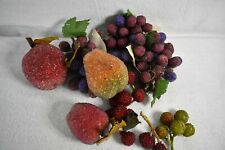 Fake Fruit Apples Pears Grapes Textured bumps
