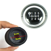 Car 6 Speed  Gear Shift Knob Black PU Leather For Toyota Corolla 1.8MT 2007-2013