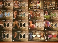 GHOST WHISPERER 'Seasons 3 & 4' Trading Chase Cards Relic, Costumes,Pieceworks