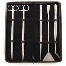 """Stainless Steel Aquascaping Tool Kit 12"""" - 5 Piece - Freshwater Planted Aquarium"""
