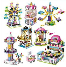 7 Set LOZ Building Block Amusement Park Brick Street City View Educational Model