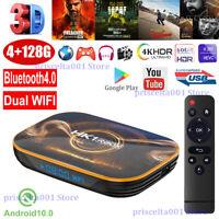 HK1 R1 4+128G Android 10.0 Dual WLAN BT4.0 TV BOX 4K HDMI2.0 3D Movies USB3.0