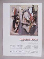 Franz Kline Art Gallery Exhibit PRINT AD - 2007