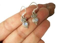 MOONSTONE  Sterling  Silver  925  Gemstone  EARRINGS  -  Gift  Boxed!