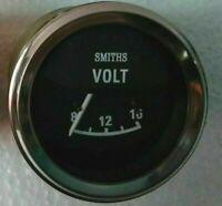 Smiths Volt Gauge chrome bezel 52 mm Volt Gauge Volt Meter 12 v replica
