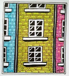 Mini Original Ink illustration 'Mini Masterpiece 2026' by Michelle Ranson