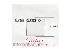 Cartier watch parts - Mens Santos Square Crystal