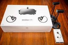 Oculus Rift CV1 FULL Package, Original Box, 4 Sensors, Upgraded Earbuds, Used