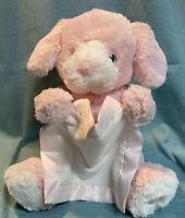 "Baby Gund Interactive Pink Peek a Boo Puppy Dog Stuffed/Plush - 11"""