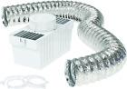Deflecto Dryer Lint Trap Kit, Indoor Venting with Supurr-Flex Flexible Metallic photo