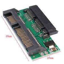 Pro 1.8 Micro SATA MSATA TO 7+15 2.5 inch SATA Adapter Converter Card Board