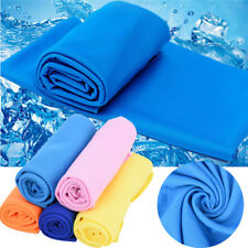Ice Cold Enduring Running Jogging Gym Chilly Pad Instant Cooling Towel Sports GL