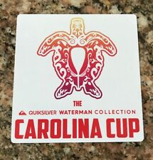 Quiksilver Carolina Cup Sticker - Waterman Collection Surfing Surf Apparel Surf