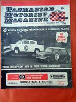 TMM Tasmanian Motorist Magazine Barry Lake December 1966 Mt Fuji Indy Inji 200