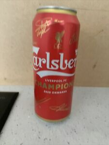 Liverpool FC C@rlsberg Limited Edition Can Souvenir gift memorabilia