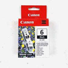 Canon BCI-6BK Black Ink Cartridge Genuine New In Box